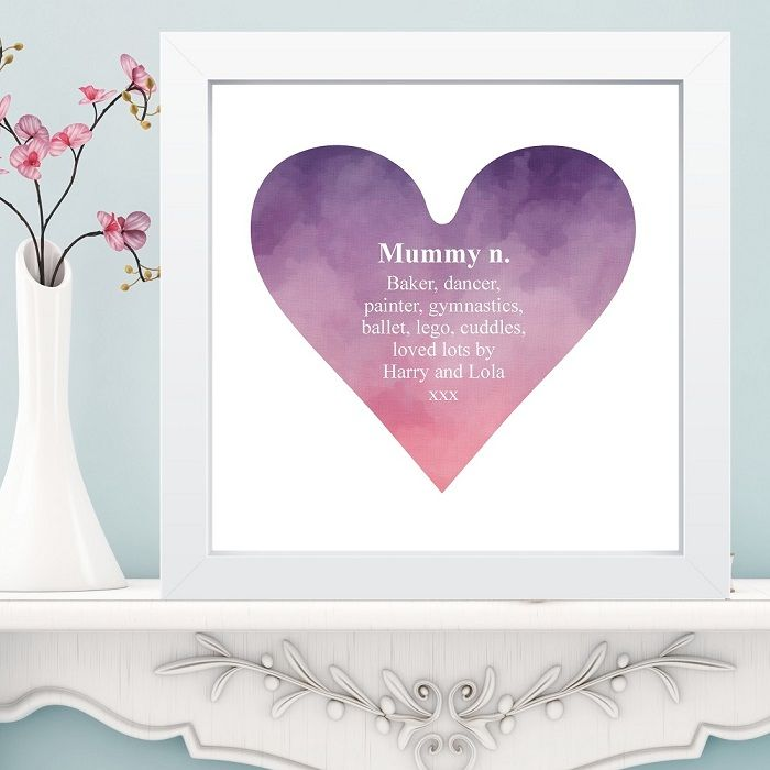 Dictionary Definiiton Heart Print in Box Frame - Unique Gift for ...