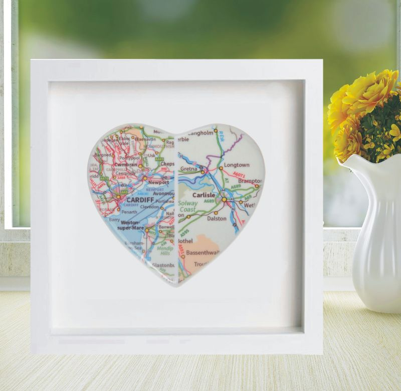 Personalised Wedding Gift Heart : ... Heart - Romantic Personalised Wedding, Anniversary or Valentines Gift