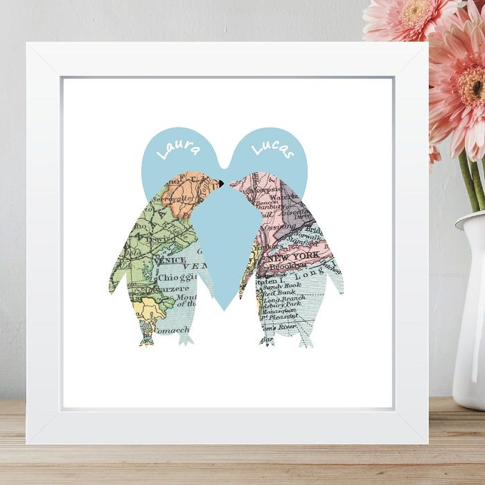 Unique Wedding Anniversary Gifts Uk : ... Unique Wedding or Anniversary Gift, Romantic Valentines Day Keepsake